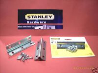 "STANLEY internal 4"" corner Brace. Zinc plated. 2 pack with screws.75-5510"